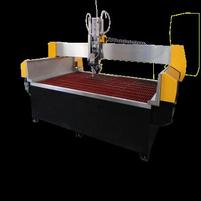 岩板加工利器-能博水刀龙门式AC轴产品